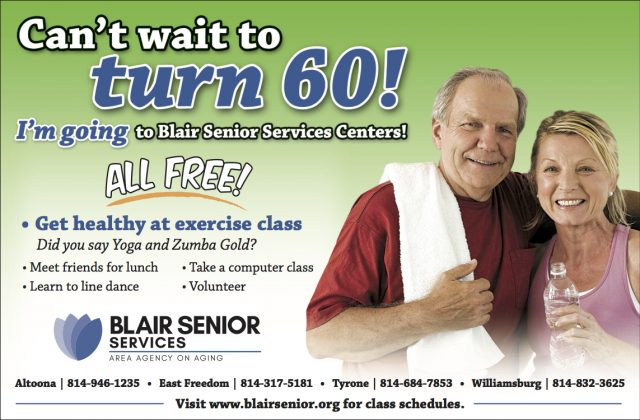 Yoga for Seniors, Zumba, Fitness Jams, and Stability Ball Fitness