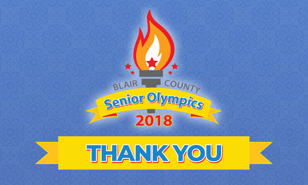 Thank You To The 2018 Senior Olympics Sponsors And Contributors